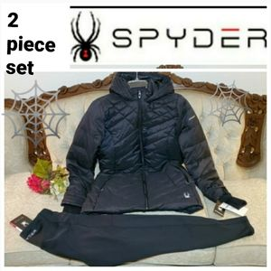 Spyder Parka Jacket/Coat and Leggings Set